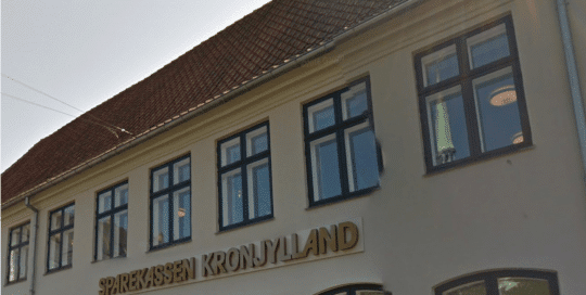 Vestergade 11, Sparekassen Kronjylland